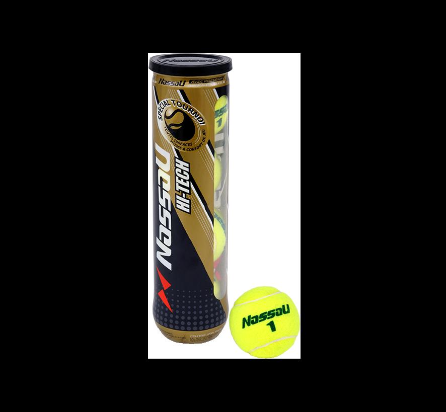 Lot de balles de tennis NASSAU