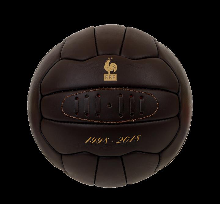 Ballon Football FFF vintage
