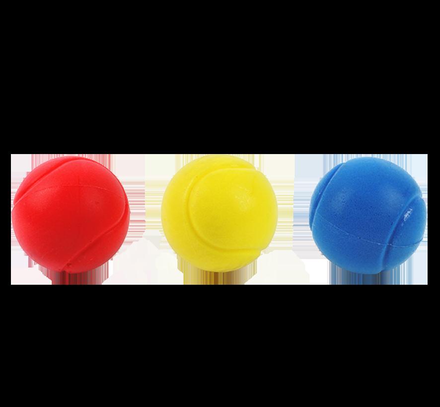 Balles de tennis en mousse