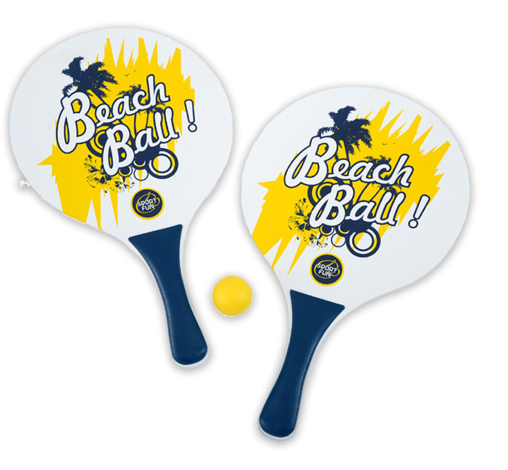 Set de raquettes de plage SPORT AND FUN