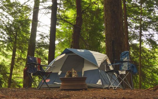 Camping randonnée
