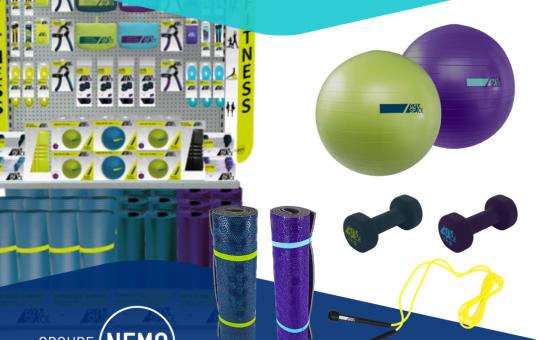 Linéaire Gym Space du Groupe Nemo